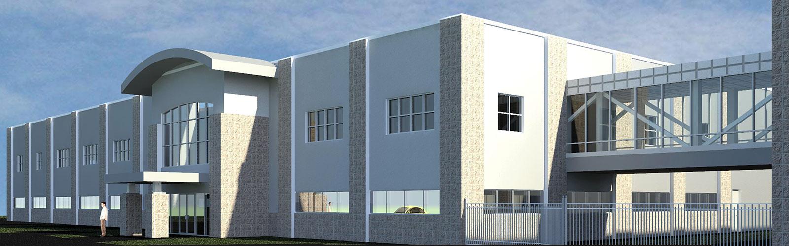 SoundOff Signal - new building